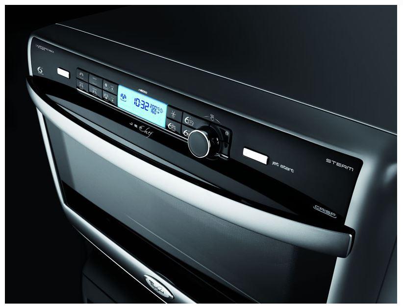 Whirlpool forno a microonde combinato con grill ventilato e cottura vapore capacit 31 litri - Cucinare con il microonde whirlpool ...