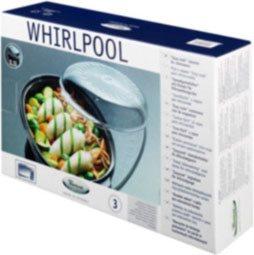 Whirlpool Vaporiera Microonde ovale per forni WHIRLPOOL STM007 - 50856
