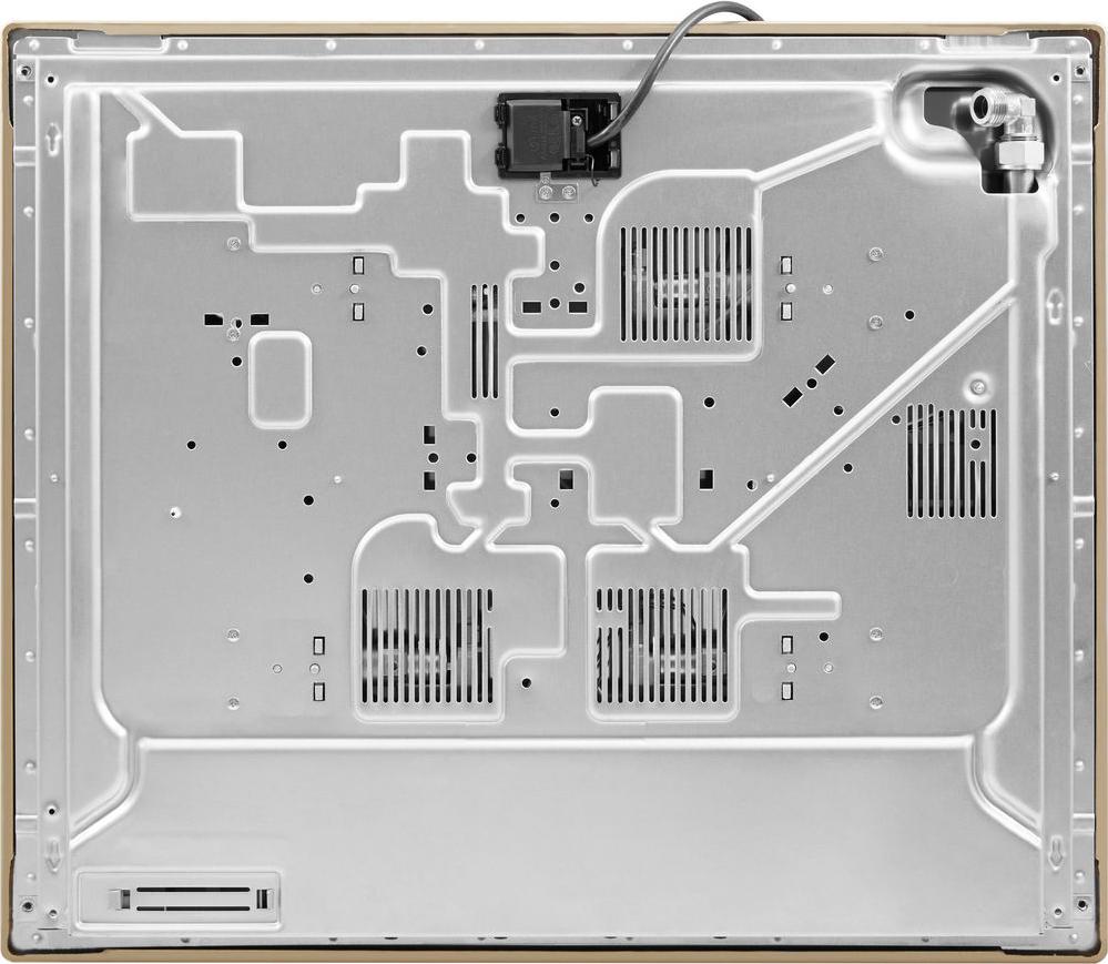 Piano Cottura 5 Fuochi Whirlpool a Gas 75 cm Incasso Inox AKR317IX Absolute