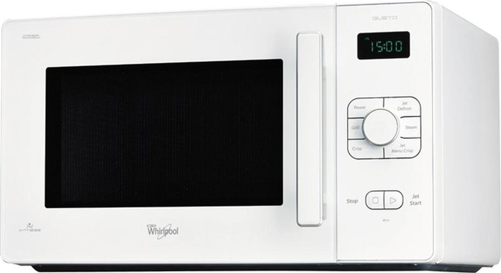 Microonde whirlpool forno a microonde 25 litri 900 watt gt 286 wh - Whirlpool forno a microonde ...