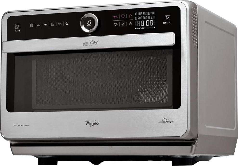 Microonde whirlpool forno a microonde 33 litri 1000 watt jet chef premium jt 479 ix - Whirlpool forno a microonde ...