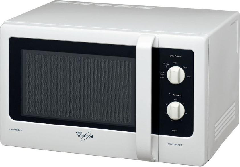 Microonde whirlpool 20 litri 700 watt mwd 122 wh - Forno a microonde combinato ...