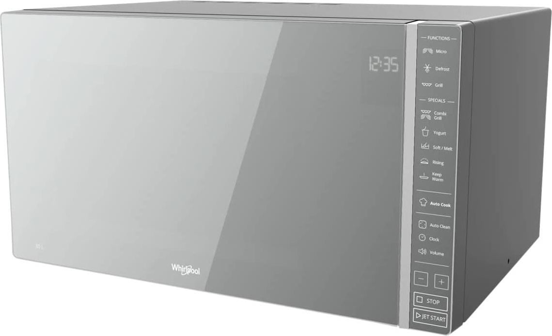 Whirlpool forno a microonde combinato con grill capacit 30 litri potenza 900 watt cottura a - Forno a microonde cottura a vapore ...