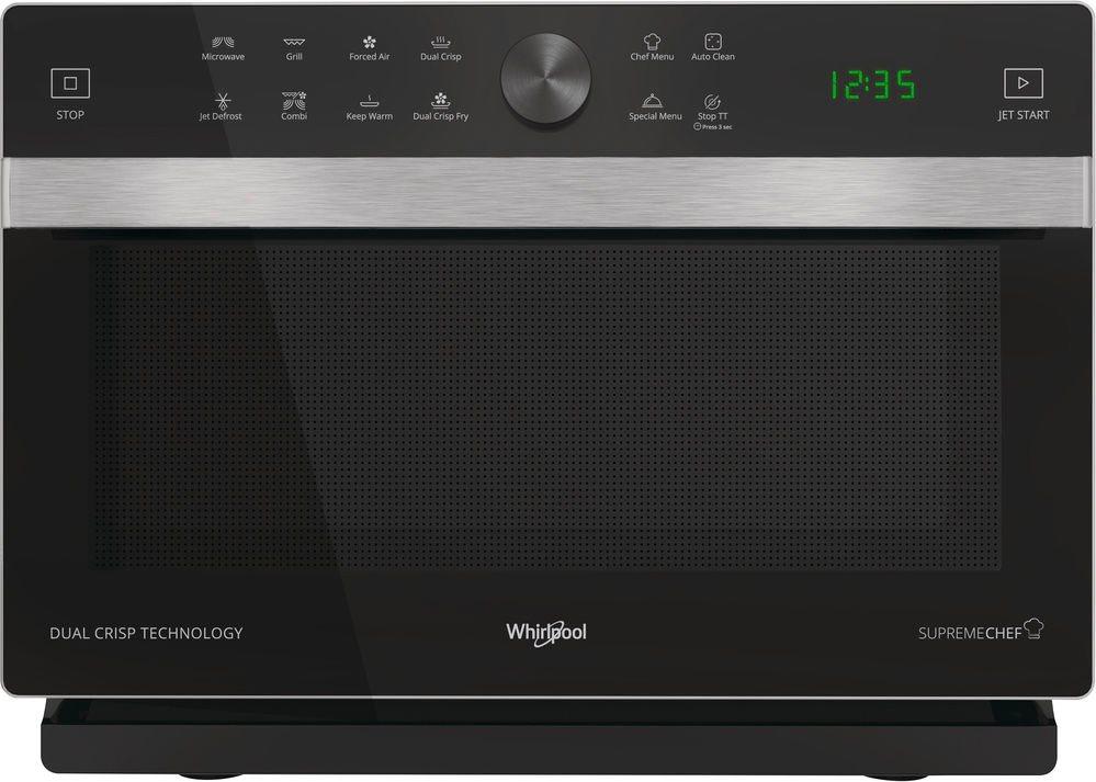 Whirlpool forno a microonde combinato ventilato con grill capacit 33 litri potenza 900 watt - Forno ventilato whirlpool ...