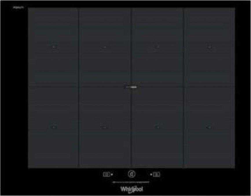 SMP 658C/NE/IXL Piano Cottura Induzione 8 Fuochi 65 cm Vetroceramica colore  Nero Sesto Senso