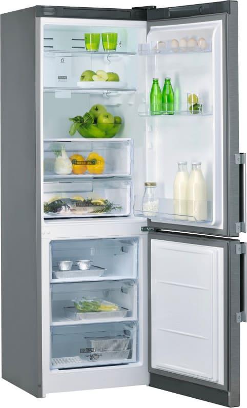 Frigorifero Combinato Capacità 338 litri Classe energetica A++  Raffreddamento Total No Frost colore inox - WTNF 82O MX H