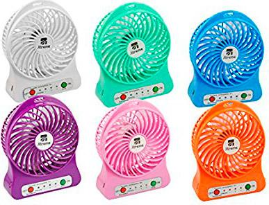 Xtreme mini ventilatore da tavolo usb portatile 3 velocit colore bianco 10301 123567 - Ventilatore da tavolo usb ...