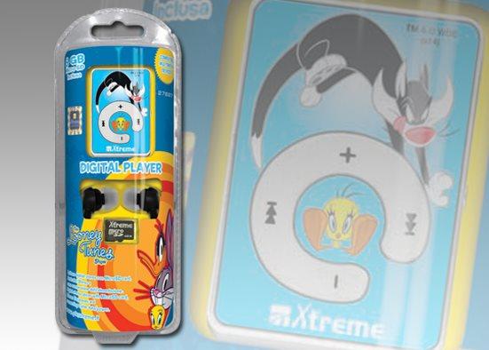 Xtreme Lettore Mp3 8 GB USB Jack 3.5 mm + Cuffie Auricolari con Filo 27697 Titty