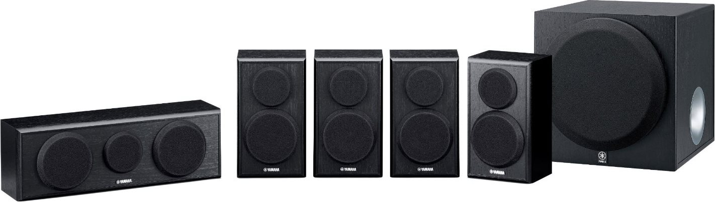 YAMAHA Home Theatre 5.1 420 W (RMS) colore Nero - NS-PB150