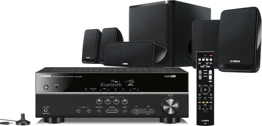 YAMAHA Home Theatre Audio 5.1 Potenza 100 Watt Bluetooth USB YHT-2930