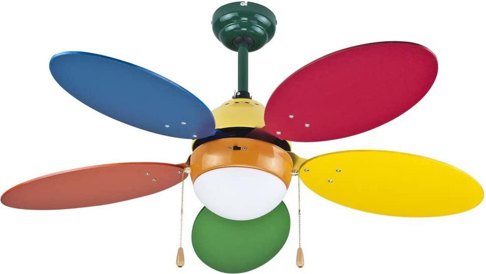 Schema Cablaggio Ventilatore A Soffitto : Zephir ventilatore da soffitto con luce a pale lampadario
