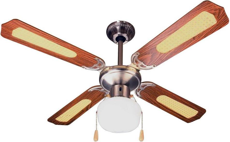 Ventilatore da soffitto zephir zfs9107m offerte e prezzi for Lampadario a pale brico