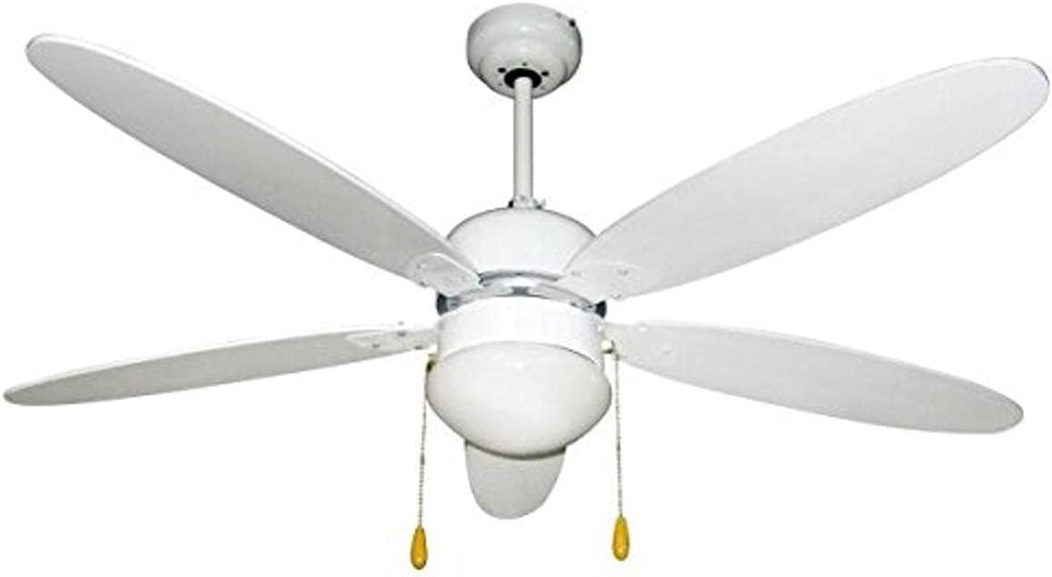 Ventilatore da soffitto zephir zfs9110b offerte e prezzi for Lampadario a pale brico