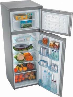 Frigorifero zerowatt frigo combinato statico zdap245s in - Frigorifero combinato o doppia porta ...