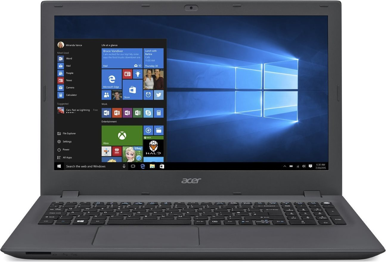 "Acer Notebook 15.6"" Intel Core i5 RAM 12 GB 1TB Wi-Fi Windows 10 E5-573G-51J8"