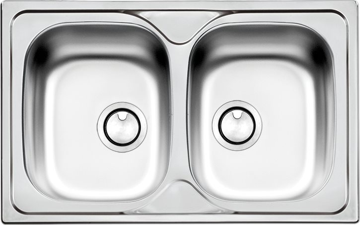 Lavello Cucina Apell TM862IBC 2 Vasche Inox Prezzoforte