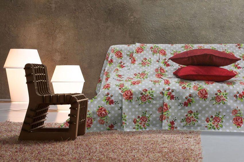 Blanco raya telo copridivano 1 posto granfoulard telo - Telo copri divano ...