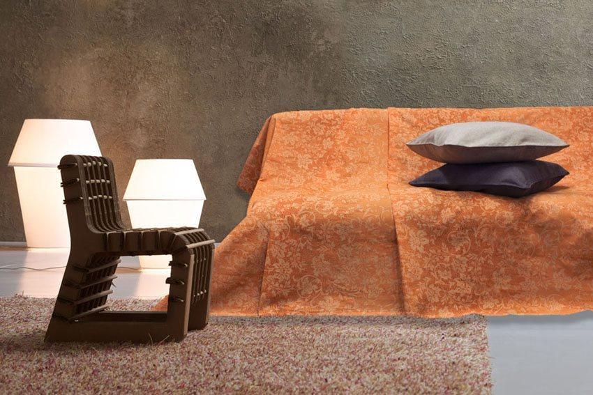 Blanco raya telo copridivano 2 posti granfoulard telo - Telo copri divano ...