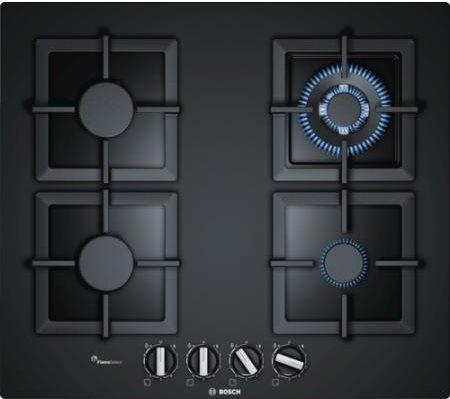 piano cottura bosch gas 4 fuochi 60 cm pph6a6b20 serie 6 109092. Black Bedroom Furniture Sets. Home Design Ideas