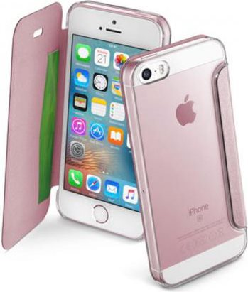 custodia a libro iphone se