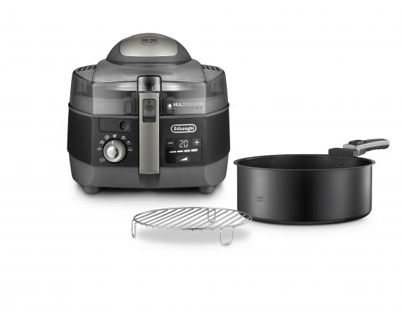 De Longhi Robot da Cucina Multicooker Pentola elettrica Friggitrice 1,7Lt FH13961BK