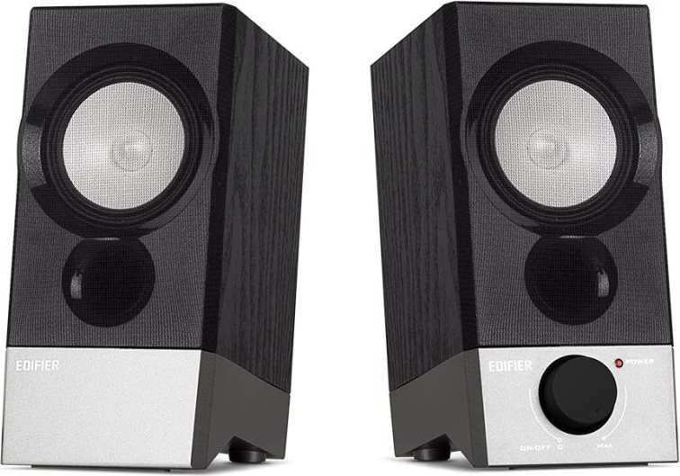 Edifier Casse Multimediali per PC Audio 2.0 USB AUX Nero - R19U