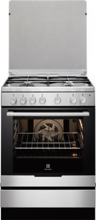Electrolux cucina a gas 4 fuochi forno elettrico ventilato con grill larghezza x profondit - Cucina con forno ventilato ...