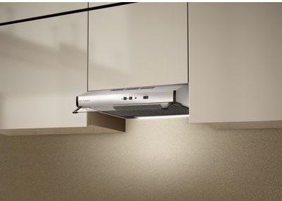 Cappa Cucina Aspirante Sottopensile Incasso Larghezza 60 cm colore Acciaio  - 300.0557.576 - 2740 SRM X A60 (VIS) FB EXP