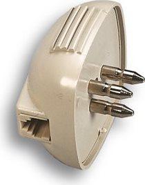 FANTON Spina tripolare con presa modulare plug 64 c. - 22070