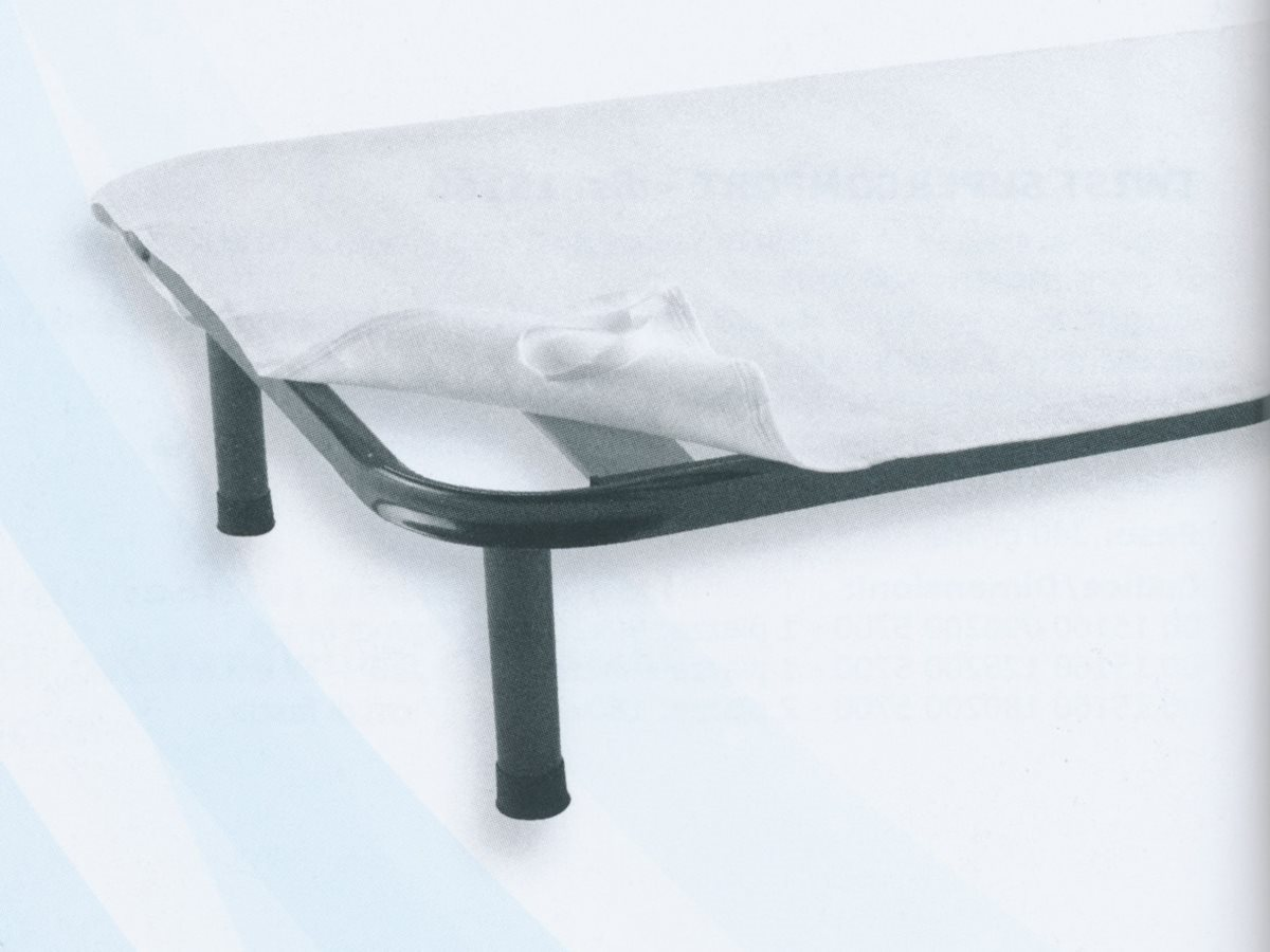 Gabel Coprirete Matrimoniale in Feltro 170x195 cm Bianco - 11345