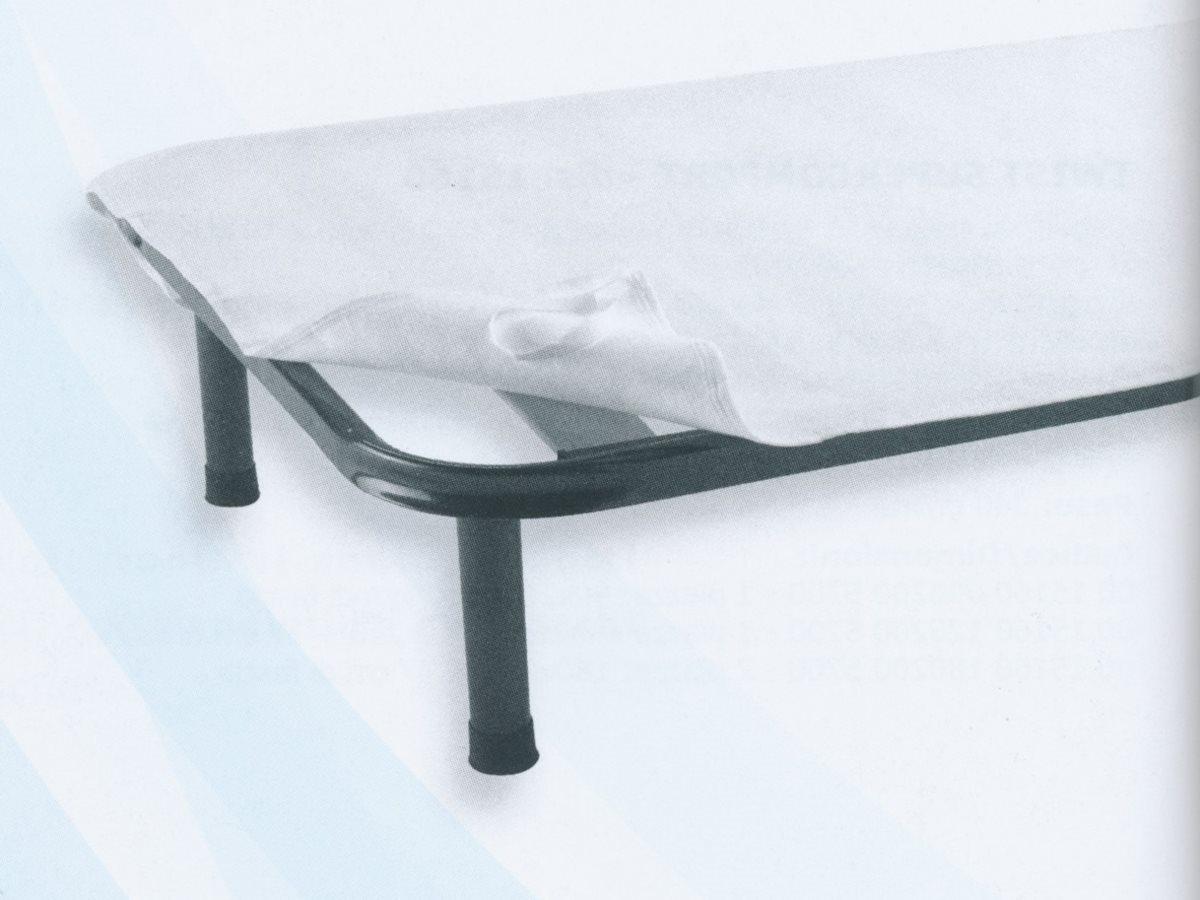 Gabel Coprirete Singolo in Feltro 85x195 cm Bianco - 11345