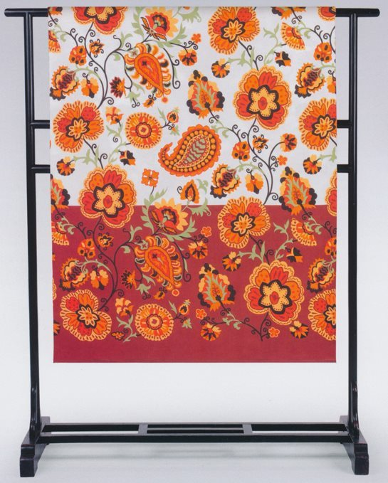 Gabel Telo Arredo Copridivano 1 posto Cotone 180x270 cm Arancio - Trinidad