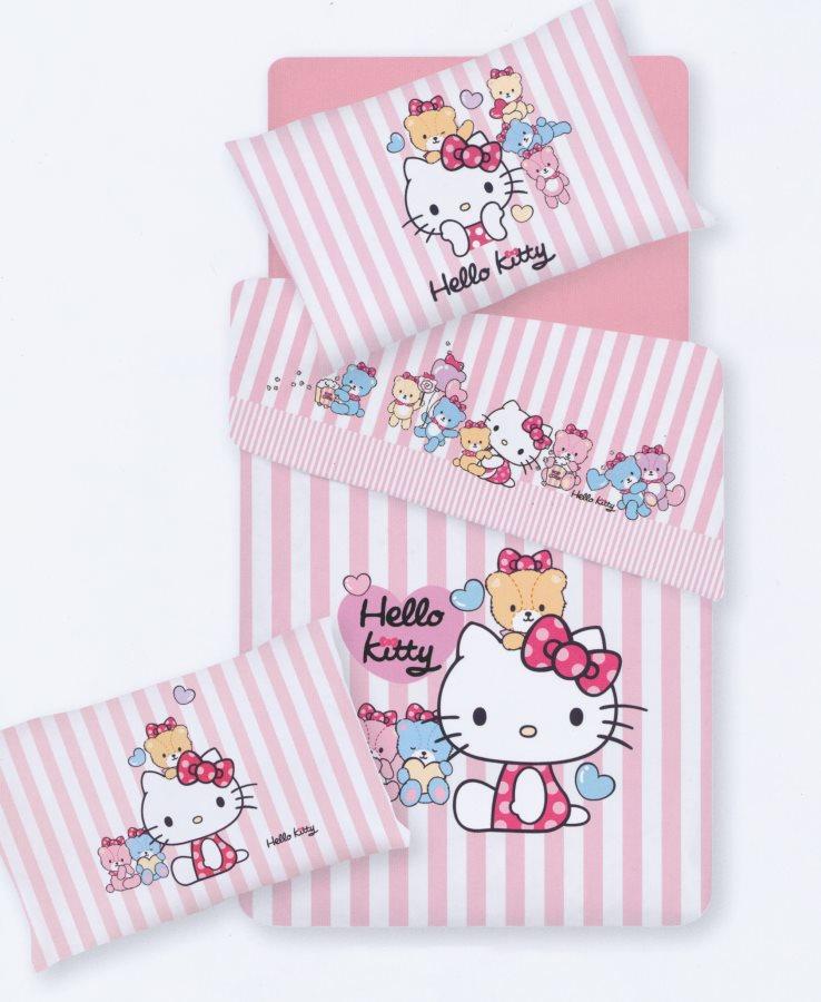 Letti Per Bambini Hello Kitty.Gabel Lenzuola Lettino Completo Letto Singolo Per Bambini Set