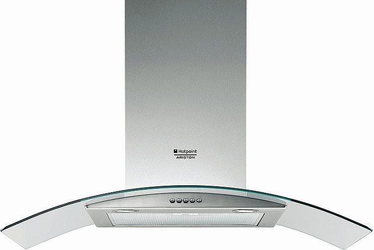 Cappa cucina ariston hotpoint hda 9t ix ha cappa filtrante - Cappa cucina 90 cm ...