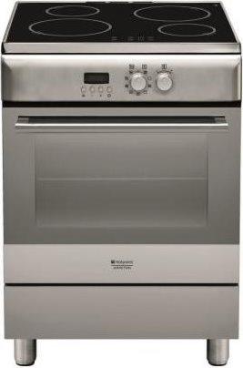 Cucina a Induzione 4 Fuochi Forno Elettrico con Grill Larghezza x  Profondità 60x60 cm Classe energetica A colore Inox - H6IMAAC (X)