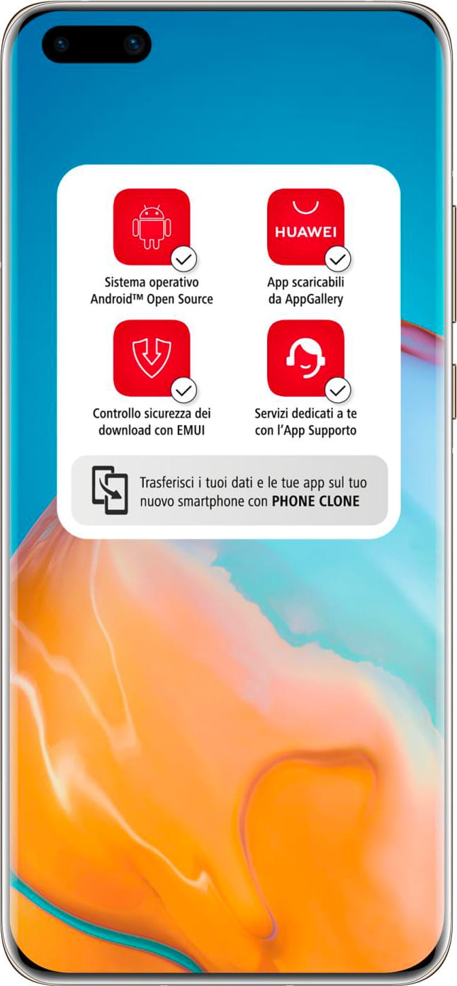 huawei 51095EYJ P40 Pro - Smartphone Dual Sim 6.58 256 GB 50 Mpx 5G Android Oro