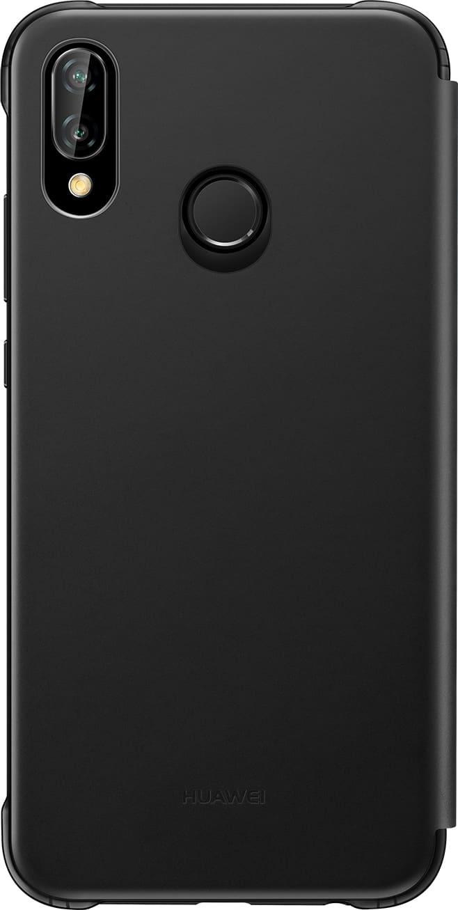 nuovo concetto ba8e3 2efd9 Cover Custodia per Smartphone Huawei P20 Lite Flip Cover (P20 Lite) Nero