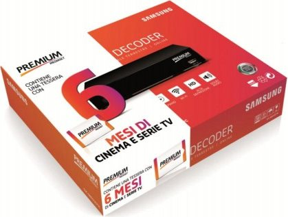 MEDIASET Decoder Digitale Satellitare HD Smart Mediaset Premium SMARTDECODER