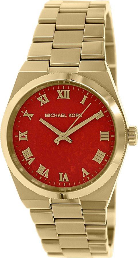 Michael Kors Orologio Donna Acciaio color Oro Rosa Analogico Quarzo Metallo 5936