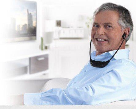 ONE FOR ALL Cuffie Wireless TV senza fili col Nero HP 1040