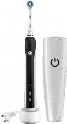 Oral-B Spazzolino Elettrico da denti Oscillante Timer + Custodia Pro 750Black