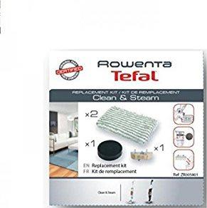 Rowenta Kit Ricambi Scopa Vapore RY7535 2 Panni 1 Filtro 1 anticalcare ZR0058