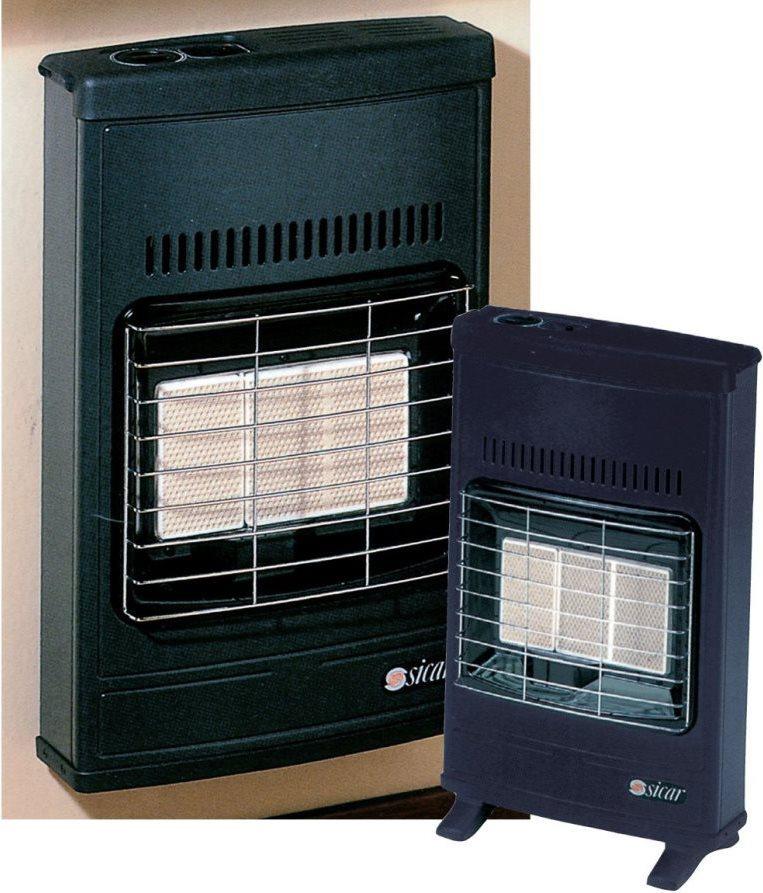 Sicar stufa a gas gpl infrarossi potenza termica max 4200 for Sicar eco 40