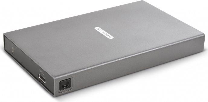 """Sitecom Case Hard Disk SATA 2.5"""" compatibile HDD  SSD Cavo USB-C MD-398"""