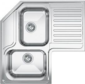 Lavello Cucina Smeg LL2AD 2 Vasche Inox Prezzoforte - 107699