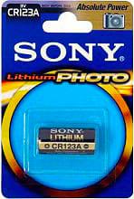 Sony Batteria Litio Professional Per Fotocamere Cr123B1