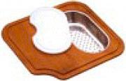 Apell TLC34 Tagliere Iroko con Cestello