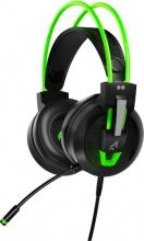 2Dots Argon Cuffie Gaming con Microfono colore Verde Fluo