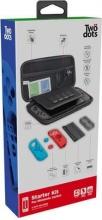 TWO DOTS TDGT0052 Custodia case per Nintendo Switch + Custodie per Controller