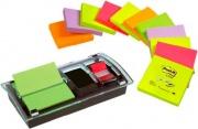 3M 40455 Dispenser Post-it Znote colori Neon